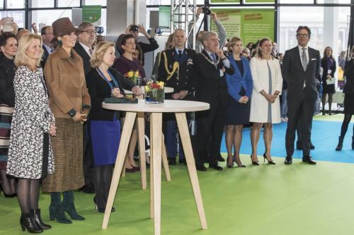 Koningin Maxima opent de NOT 2017 - Copyright NOT 2017 (Jaarbeurs)