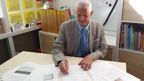 ondertekening cao 2018