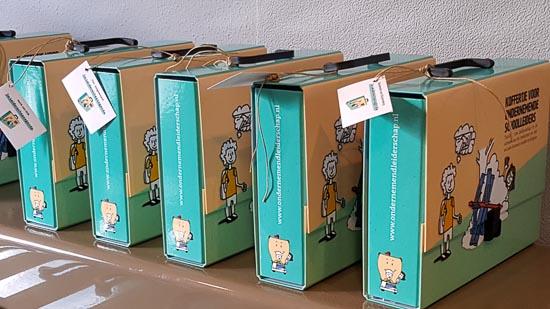 koffertjes voor ondernemende schoolleiders