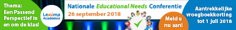 banner Nationale Educational Needs Conferentie