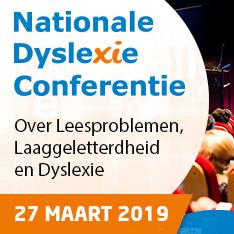 Nationale Dyslexie Conferentie 27 maart 2019