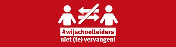 #wijschoolleiders niet (te) vervangen!