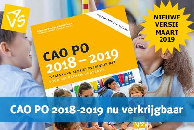 CAO PO 2018-2019 versie maart 2019