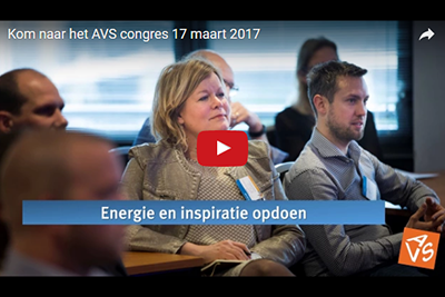 Kom naar het AVS-congres 2017 en profiteer van vroegboekkorting