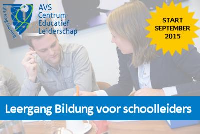 Leergang Bildung voor schoolleiders