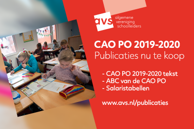 CAO PO 2019-2020 publicaties te koop