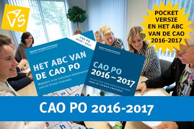 CAO PO 2016-2017 pocketversie en het ABC