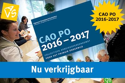 CAO PO 2016-2017 nu verkrijgbaar