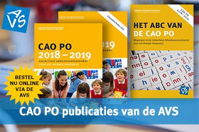 CAO PO publicaties van de AVS