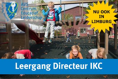 Leergang Directeur IKC ook in Limburg