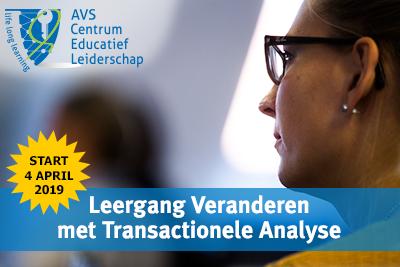 Leergang Veranderen met Transactionele Analyse start 4 april