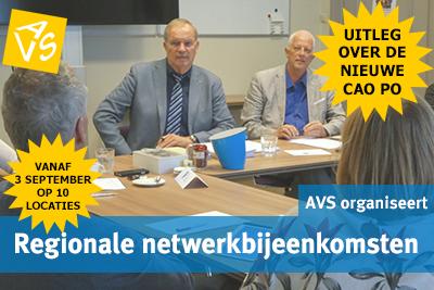 Regionale netwerkbijeenkomsten over CAO PO