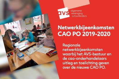 Regionale netwerkbijeenkomsten CAO PO 2019-2020