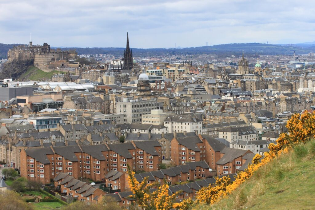 Edinburgh - Afbeelding van Meeeeting via Pixabay