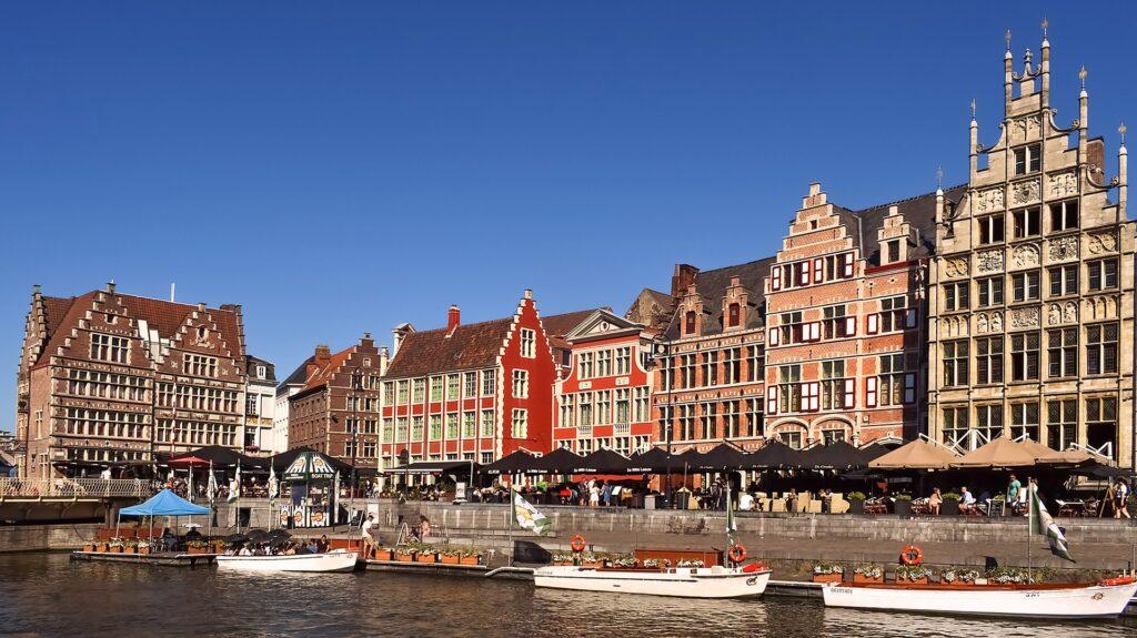 Gent - Afbeelding van Jochen Schaft via Pixabay