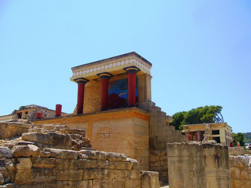 Kreta - Knossos - Afbeelding van davestem via Pixabay